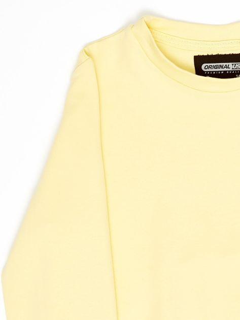 Jasnożółta bluza młodzieżowa                              zdj.                              10