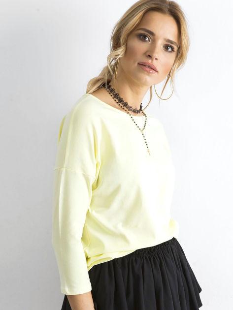 Jasnożółta bluzka April                              zdj.                              3