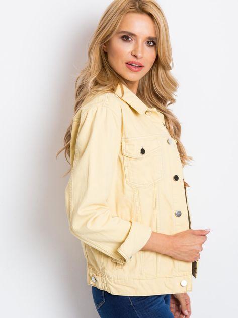 Jasnożółta kurtka Daisy                              zdj.                              3