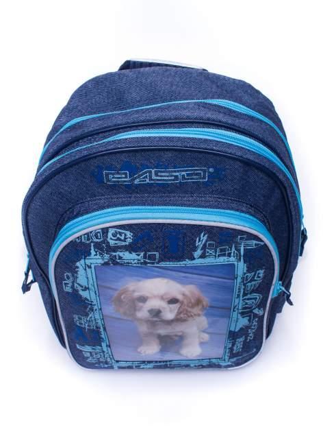 Jeansowy plecak szkolny DISNEY z pieskiem                                  zdj.                                  5