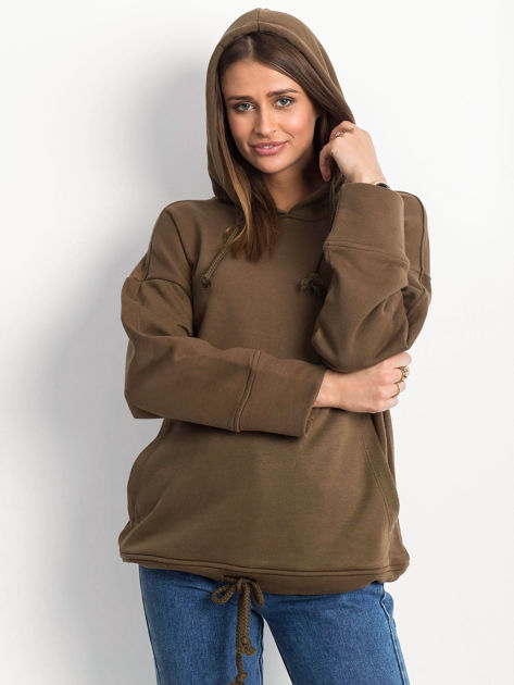 Khaki bluza Replicating                              zdj.                              5