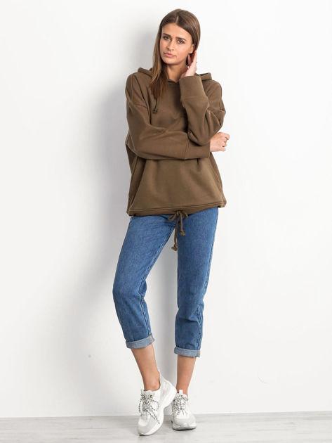 Khaki bluza Replicating                              zdj.                              4