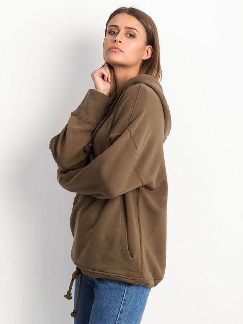 Khaki bluza Replicating                              zdj.                              3