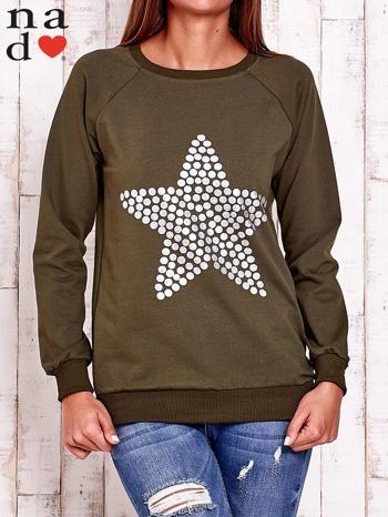 Khaki bluza z gwiazdą