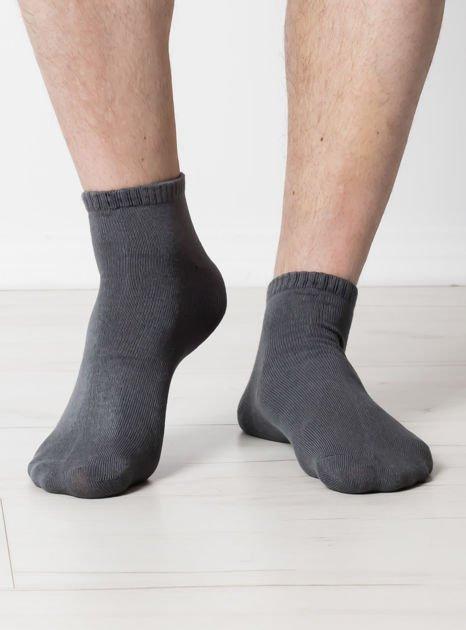 Khaki gładkie stópki męskie