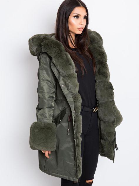 Khaki kurtka Frost