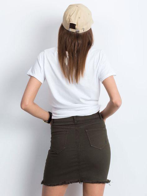 Khaki spódnica Along                              zdj.                              2