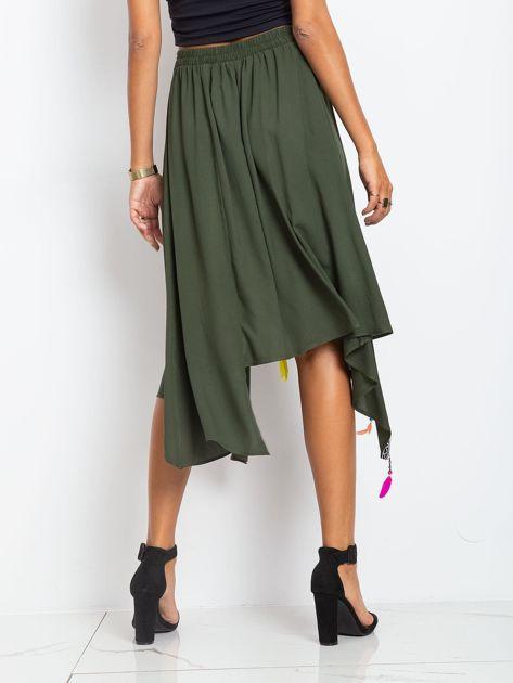 Khaki spódnica Amazon                              zdj.                              2