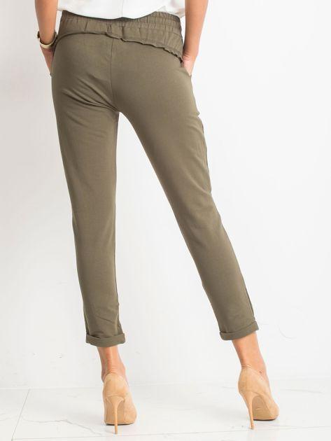Khaki spodnie Approachable                              zdj.                              2