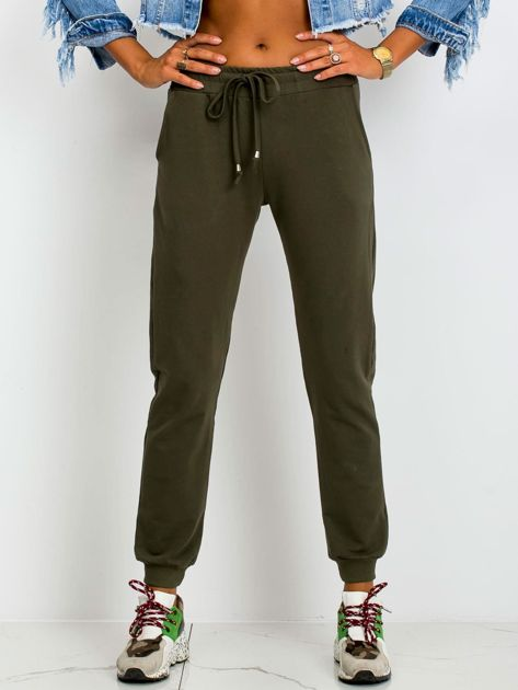 Khaki spodnie Faster                              zdj.                              1