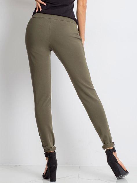 Khaki spodnie dresowe Defined                              zdj.                              2