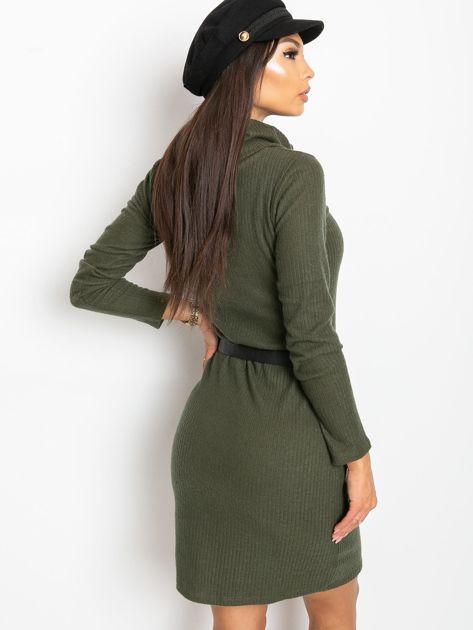 Khaki sukienka Cleo                              zdj.                              2