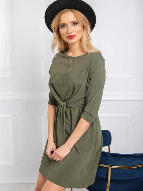 Khaki sukienka Esther