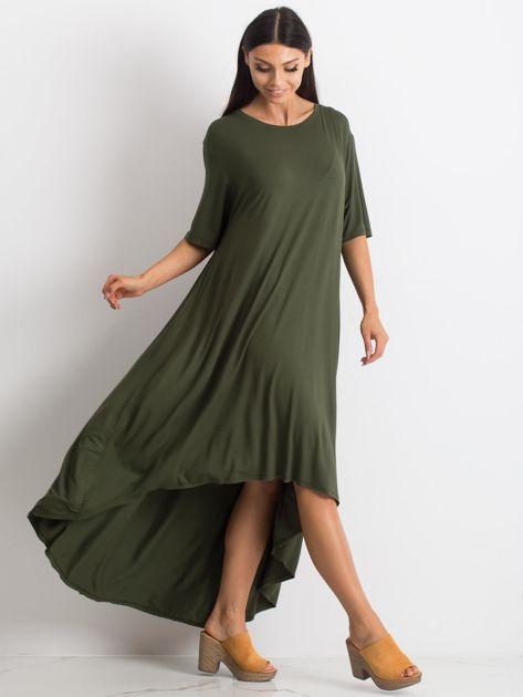 Khaki sukienka Mountaineering                              zdj.                              1
