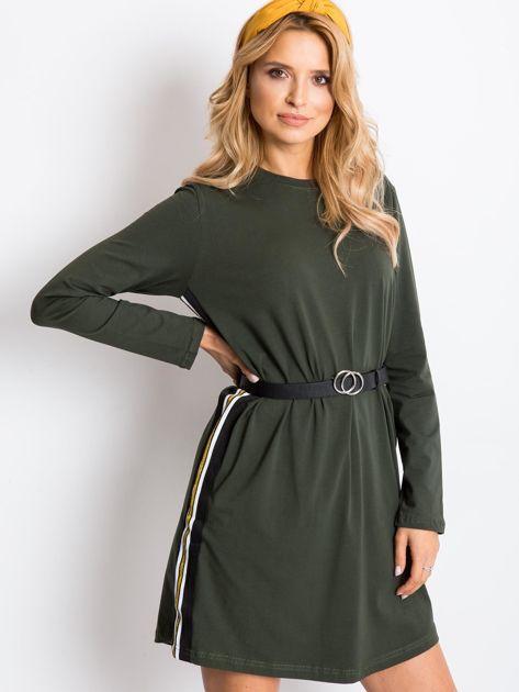 Khaki sukienka Temple                              zdj.                              5