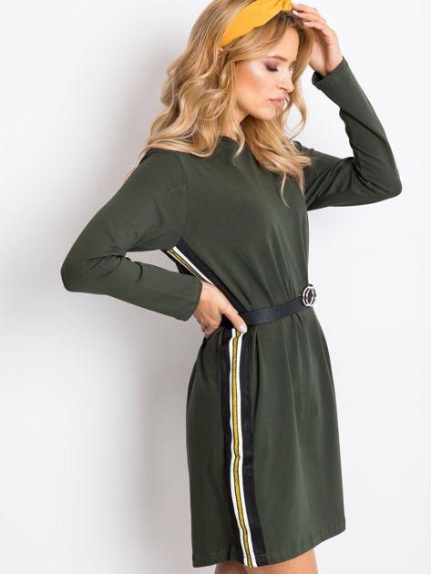 Khaki sukienka Temple                              zdj.                              3