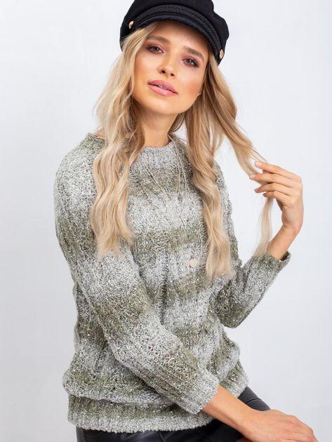 Khaki sweter Amelia                              zdj.                              1