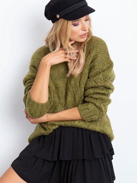 Khaki sweter Bali                              zdj.                              1