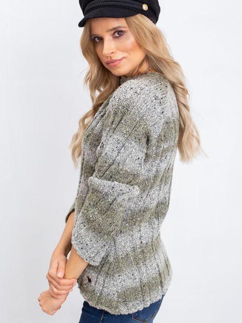 Khaki sweter Fantasy                              zdj.                              3