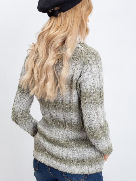 Khaki sweter Tracey                              zdj.                              2