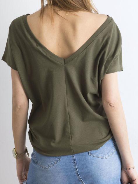 Khaki t-shirt Fire                              zdj.                              2