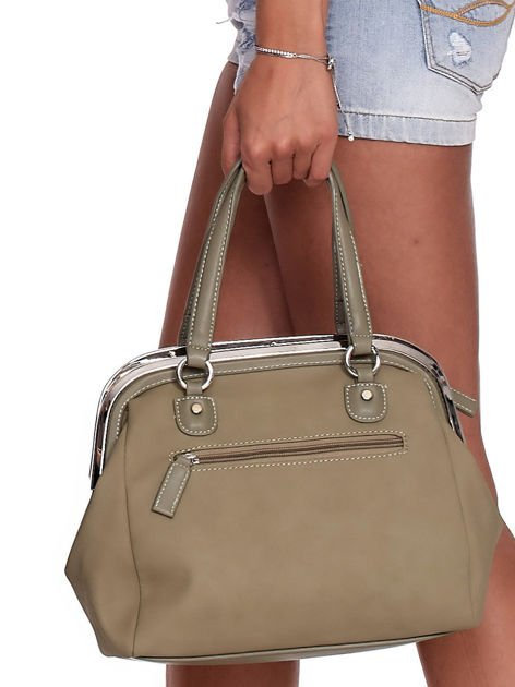Khaki torba damska vintage                              zdj.                              8