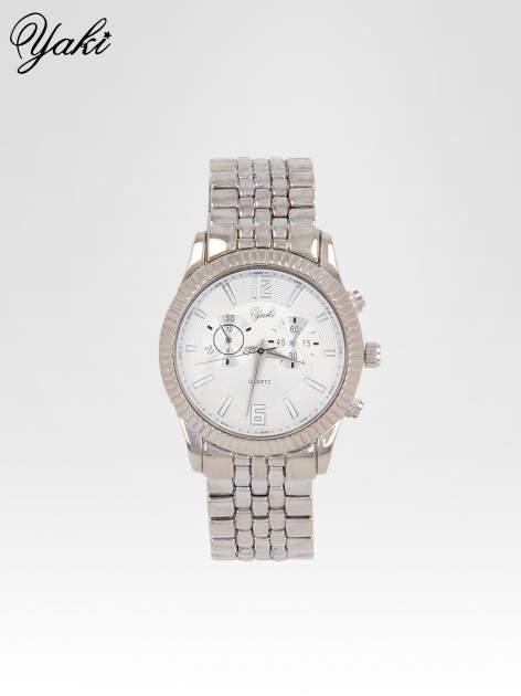Klasyczny zegarek damski na bransolecie w kolorze srebra                                  zdj.                                  1