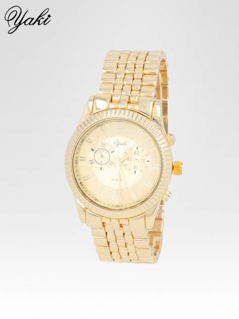 Klasyczny zegarek damski na bransolecie w kolorze złota                                  zdj.                                  2