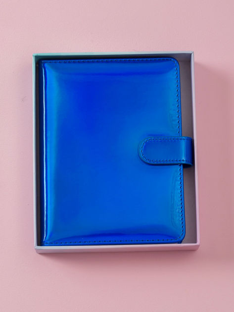 Kobaltowy lustrzany notes                              zdj.                              8