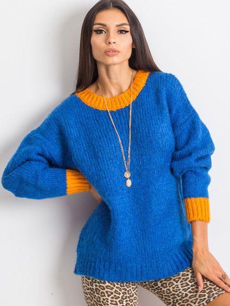 Kobaltowy sweter Pretty                              zdj.                              1