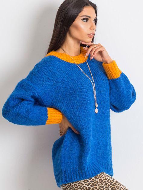 Kobaltowy sweter Pretty                              zdj.                              3