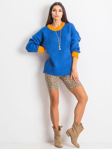 Kobaltowy sweter Pretty                              zdj.                              4
