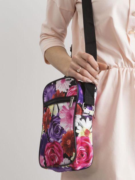 Kolorowa torebka w kwiaty                              zdj.                              2
