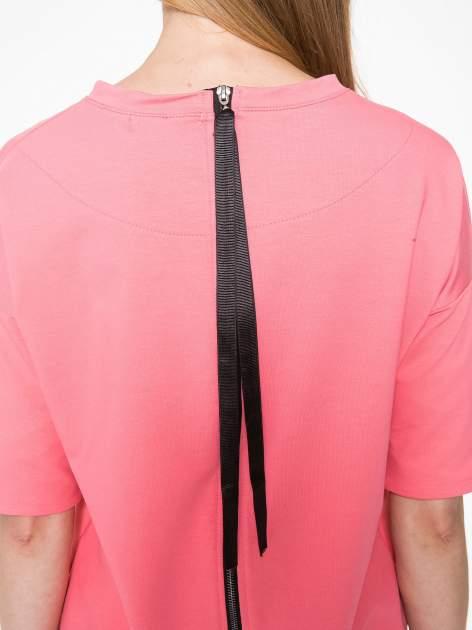Koralowa bluza z suwakiem z tyłu                                  zdj.                                  9