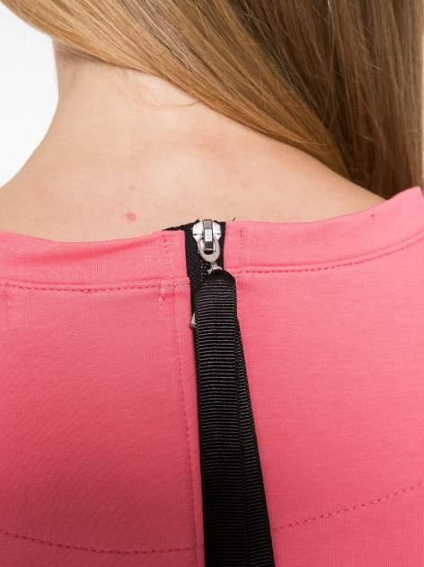 Koralowa bluza z suwakiem z tyłu                                  zdj.                                  10