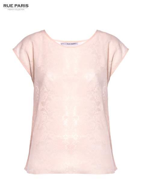 Koralowa transparentna koszula                                  zdj.                                  2