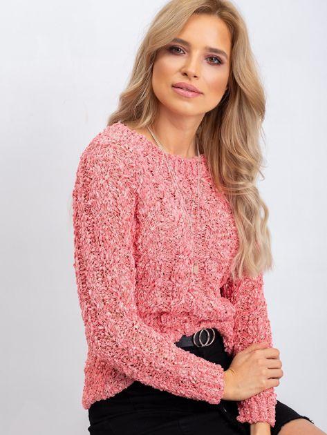 Koralowy sweter Jessica                              zdj.                              1
