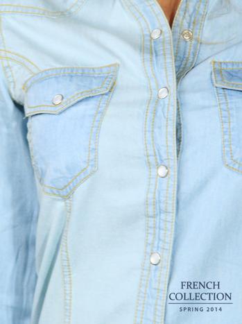 Koszula jeansowa                                  zdj.                                  8