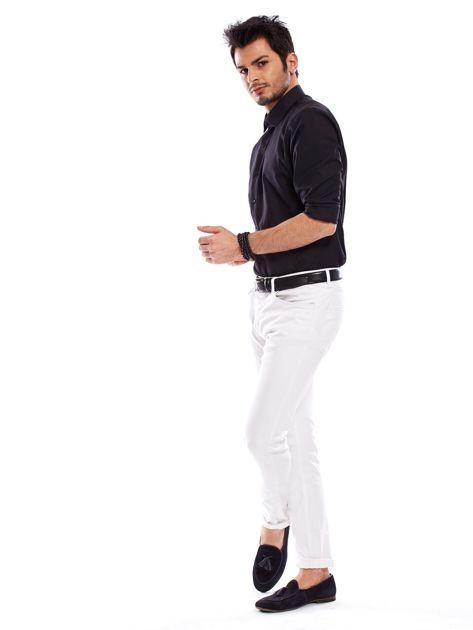 Koszula męska czarna regular fit                              zdj.                              6