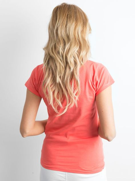 Koszulka z napisem pomarańczowa                              zdj.                              2