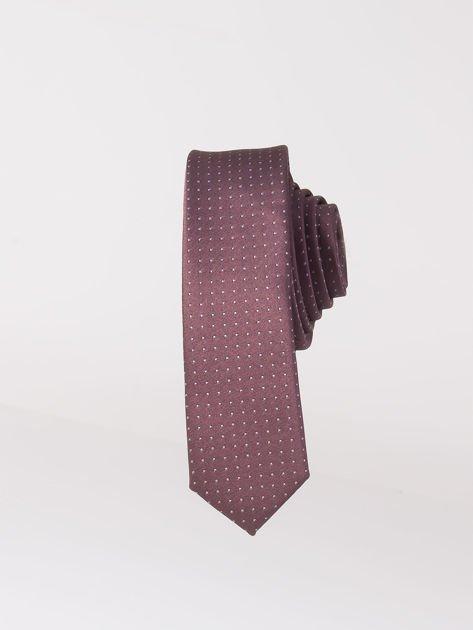 Krawat męski we wzory wielokolorowy                              zdj.                              5