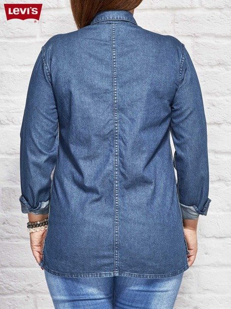 LEVIS Niebieska jeansowa koszula                              zdj.                              2