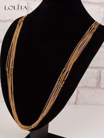 LOLITA Naszyjnik złoty (bardzo długi)