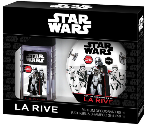"""La Rive Disney Star Wars First Order Zestaw /deo perf.80ml+żel 2w1 250ml/"""""""