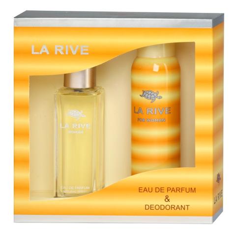 """La Rive La Rive for Woman La Rive Woman Zestaw/edp90ml+deo150ml/"""""""