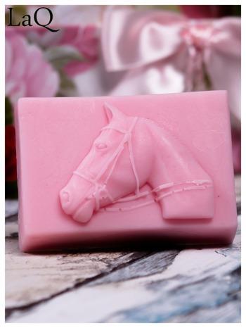 LaQ Mydełko Portret konia - różowy / Zapach - truskawka BEZ SLS i SLES                                  zdj.                                  1