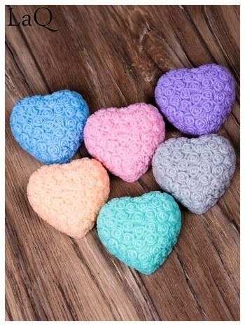 LaQ Mydełko Wielkie serce - niebieski / Zapach - wata cukrowa BEZ SLS i SLES                                  zdj.                                  2