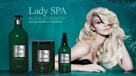 Lady Spa ALGAE Strength Naprawczy szampon do włosów 1000 ml                              zdj.                              2