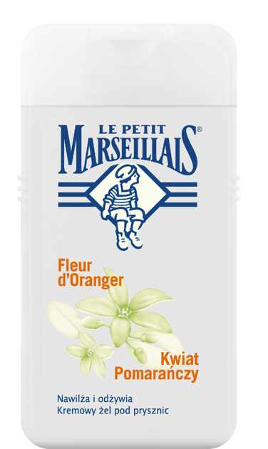 "Le Petit Marseillais Żel pod prysznic Kwiat Pomarańczy  250ml"""