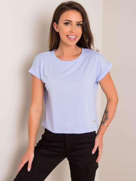 Liliowy t-shirt Wish